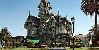 Encroachment: photo of Carson Mansion - Eureka