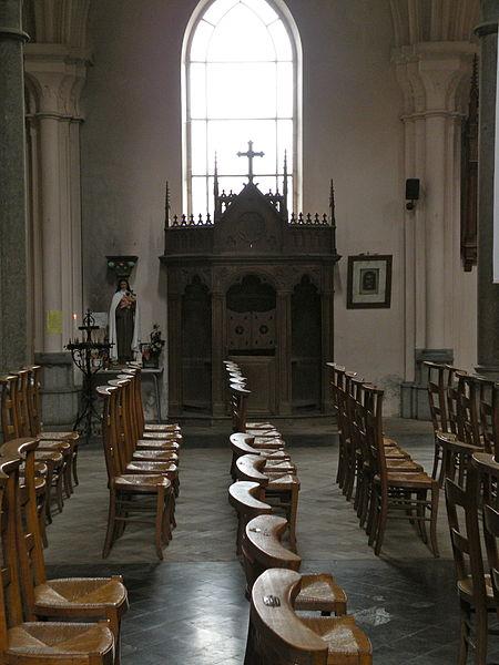 Fichier: Confessionnal 2 Église Saint-Étienne de Wignehies.JPG