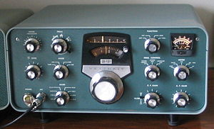 English: Heathkit SB-101 transceiver