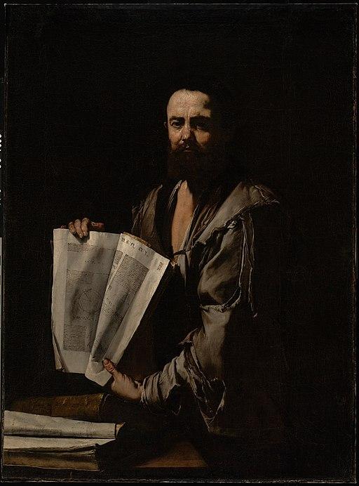 Euclid by Jusepe de Ribera