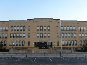 The George D. Kouloheras Wing of Lowell High S...