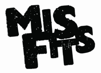 English: Logo from the television program Misfits