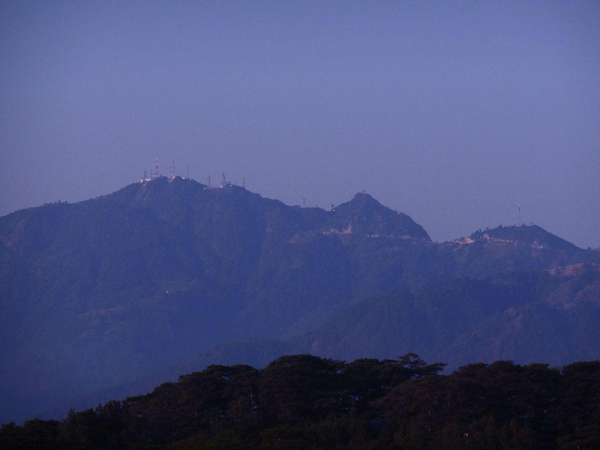 Mount Santo Tomas  Wikipedia