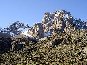 Mount Kenya m ( ft)