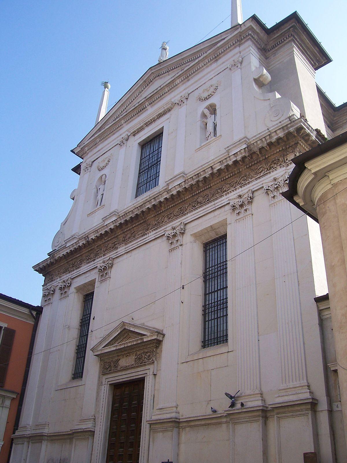 Chiesa di Santa Giulia Brescia  Wikipedia