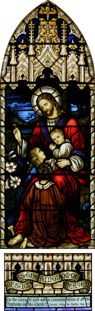 Jesus and the Children, St. John's Anglican Church, Ashfield, New South Wales, Wikipedia