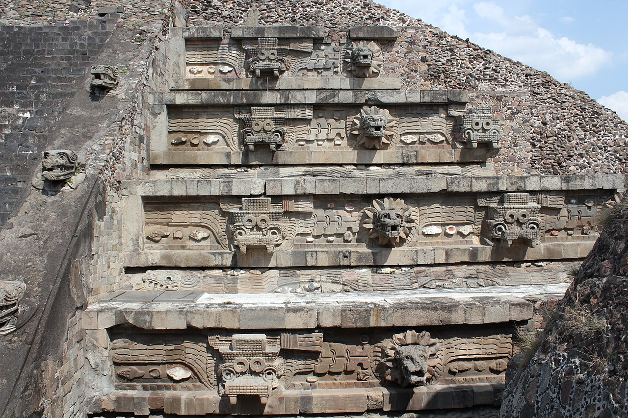 FileTeotihuacan Citadel Temple of the Feathered Serpent