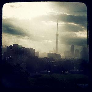 Toronto after a rain storm.