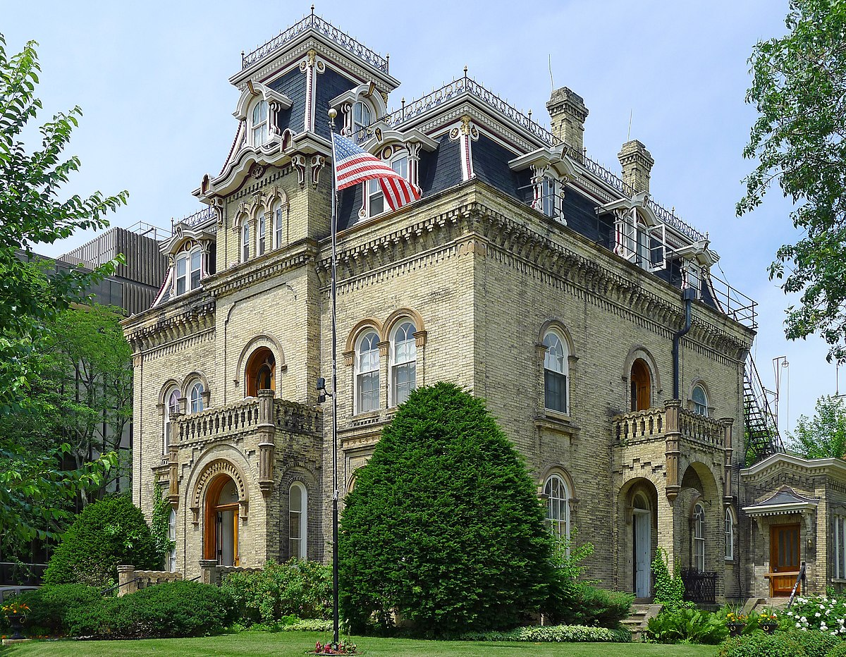 Mansion Hill Historic District Madison Wisconsin