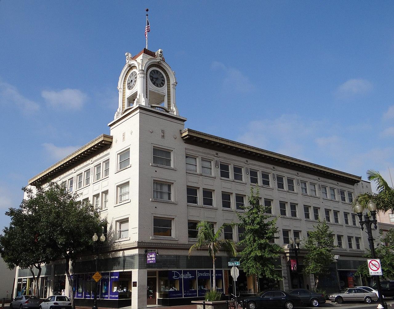 File W H Spurgeon Building Santa Ana Ca Jpg
