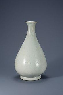 porcelaine blanche de la periode joseon