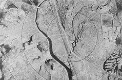 Fotografía de Nagasaki posterior al bombardeo.
