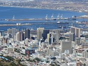 Central Cape Town from Lions Head