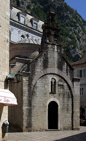 English: St. Luke church in Kotor Srpskohrvats...