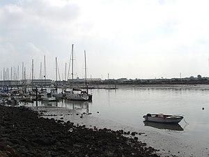 Español: desembocadura del río Guadalete, en E...