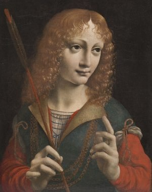 Alleged portrait of Gian Galeazzo Maria Sforza...