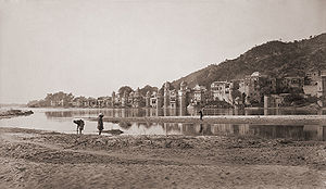 Haridwar, a site for Hindu pilgrimage, 1866 ph...