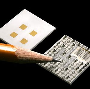 Micro-chip - integrated electronics