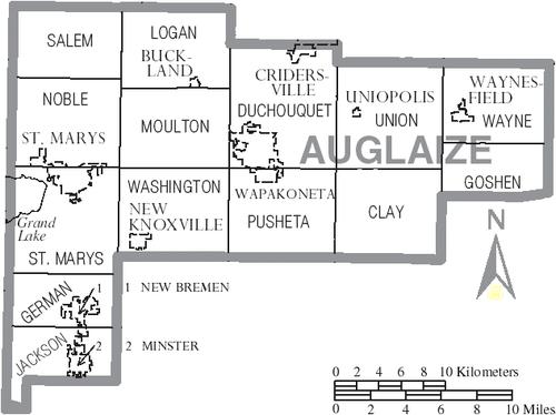Xã German, Quận Auglaize, Ohio