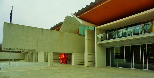 National Portrait Gallery, Canberra, Australia - Joy of Museums - Ext