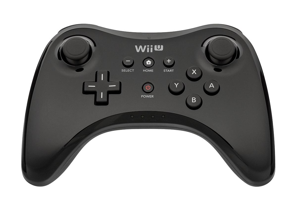 Wii U Pro Controller Wikipedia