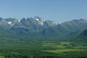 Ahklun Mountains and the Togiak Wilderness wit...