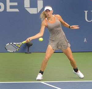 Caroline Wozniacki at 2008 US Open