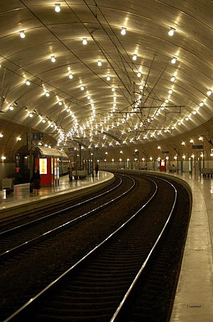 Gare de Monaco France