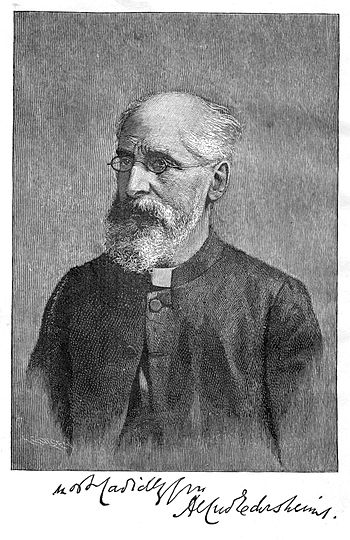 English: Alfred Edersheim (1825-1889), Austria...