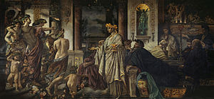Plato's Symposium (Anselm Feuerbach, 1873)
