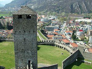 Bellinzona, die Murata