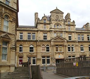 English: Coal Exchange, Cardiff Bay, Cardiff, ...