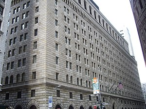Federal Reserve Bank of NY, 33 Liberty Street
