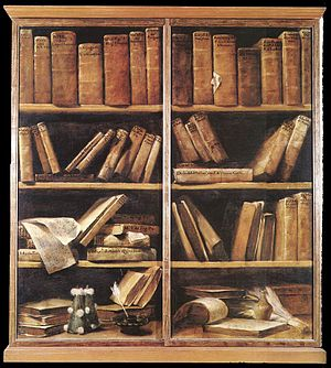Giuseppe Maria Crespi - Bookshelves - WGA05755