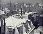 Verschneite Dächer, Gustave Caillebotte, 1878/79, 64,5 cm × 81 cm, Öl auf Leinwand