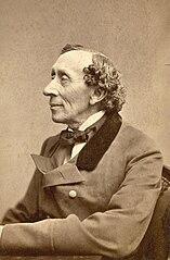 Hans Christian Andersen in 1869 (Wikimedia)