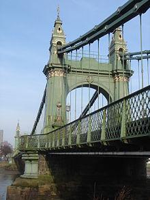 Hammersmith Bridge  Wikipedia