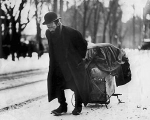 English: Jewish rag picker, Bloor Street West,...