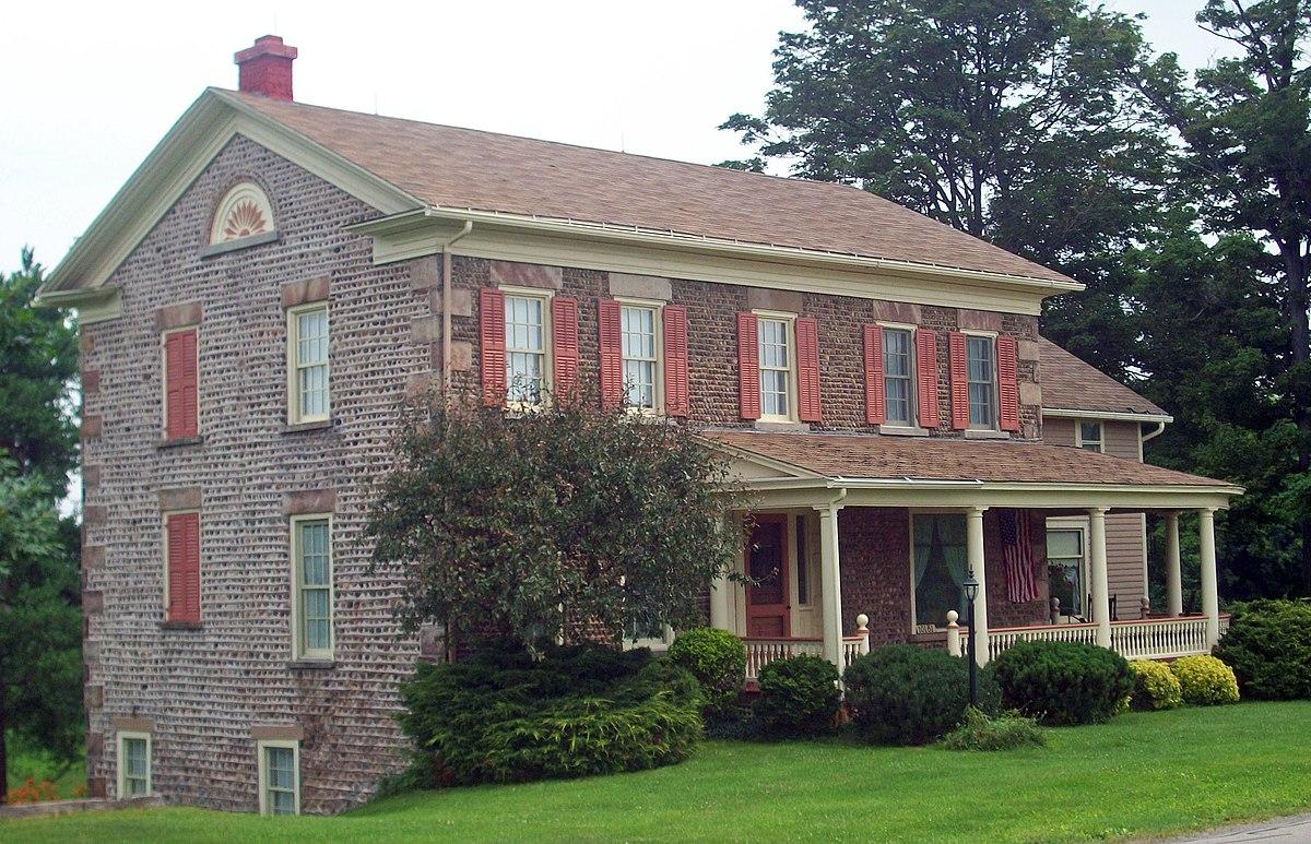 John Shelp Cobblestone House Wikipedia