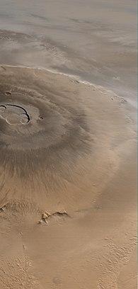 Mars Global Surveyor image of Olympus Mons