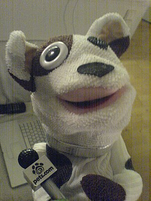 The Pets.com sockpuppet