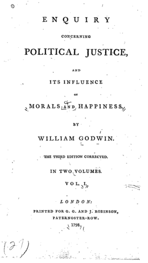 Title page from the third edition of Political...