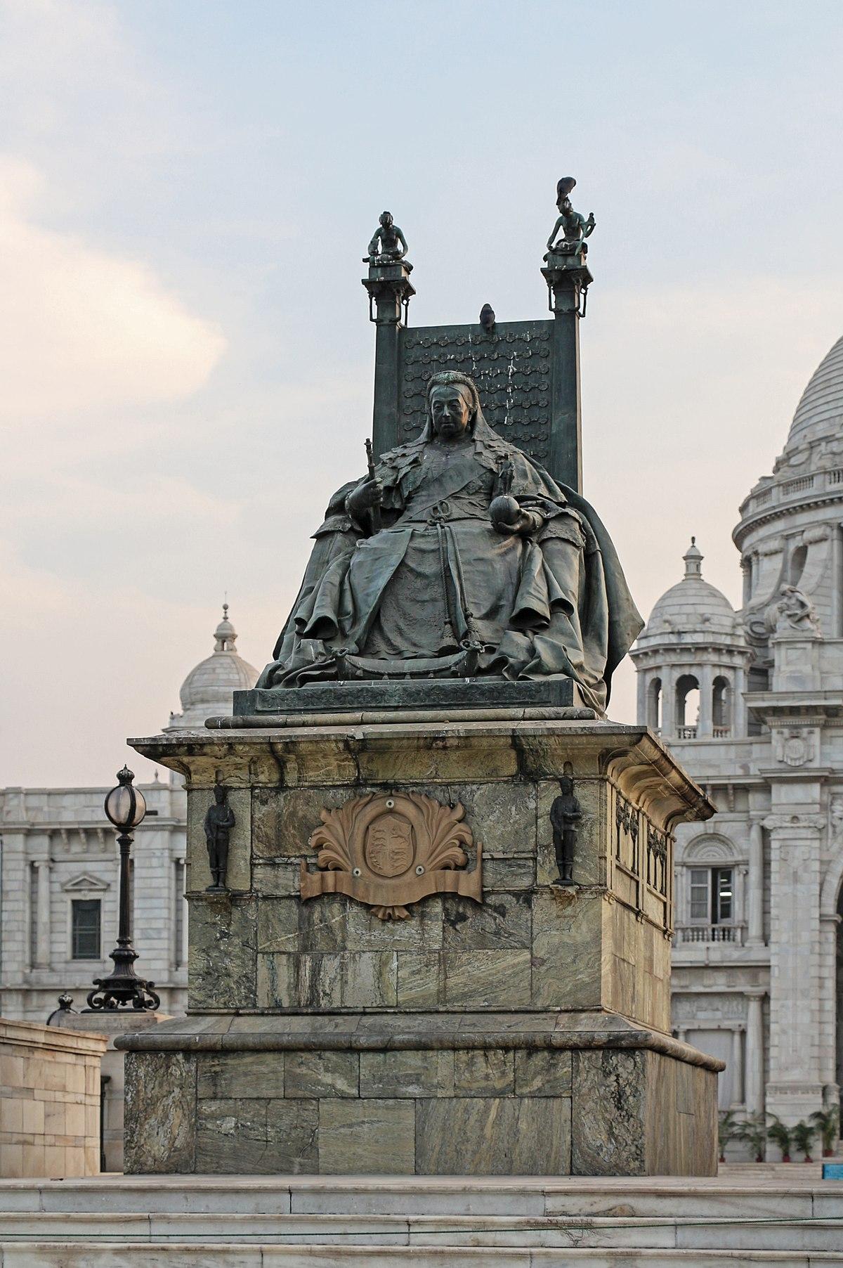 Victoria Memorial Calcutta Wikip 233 Dia