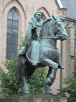 Ruiterstandbeeld Sint Willibrordus  Wikipedia