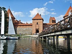 Bridge and Castle of Trakai