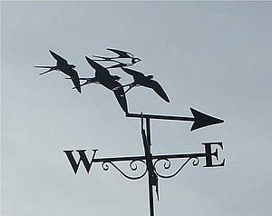 English: Weather Vane Beautiful weather vane o...