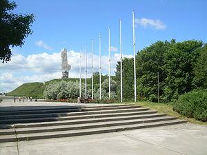 Westerplatte in Gdańsk.