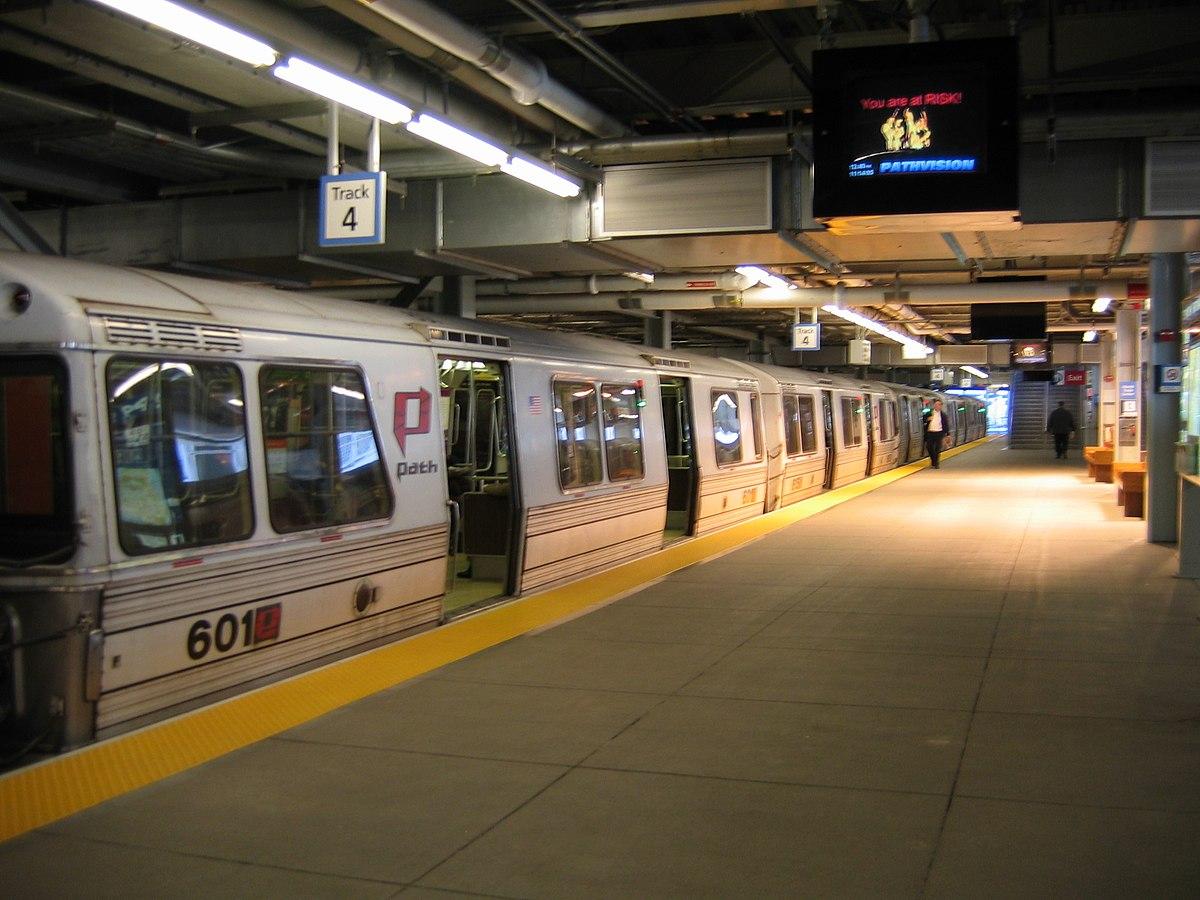 new york city subway diagram century electric hoboken–world trade center - wikipedia