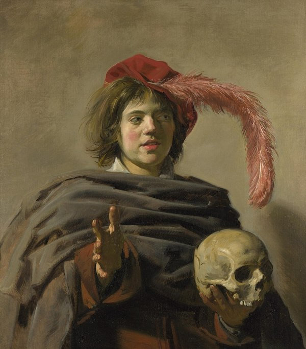 File Young Man With Skull Frans Hals National