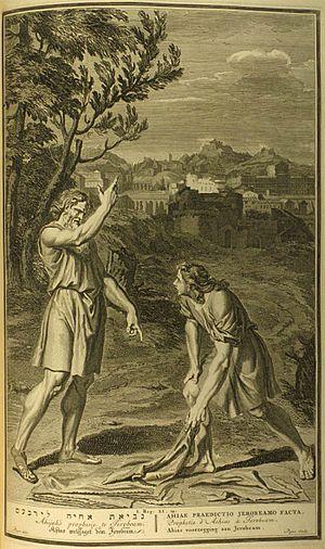 Ahijah's prophesie to Jeroboam